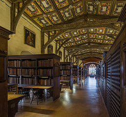 Interior of Duke Humfrey's Library, Oxford
